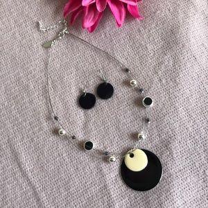 Jewelry - earrings & necklace set